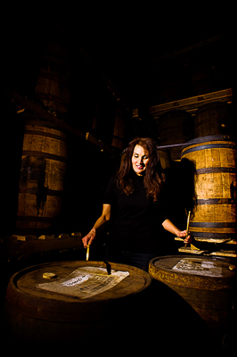 Photographed at the Highwood Distillery whisky storage room. Photo by Neville Palmer.